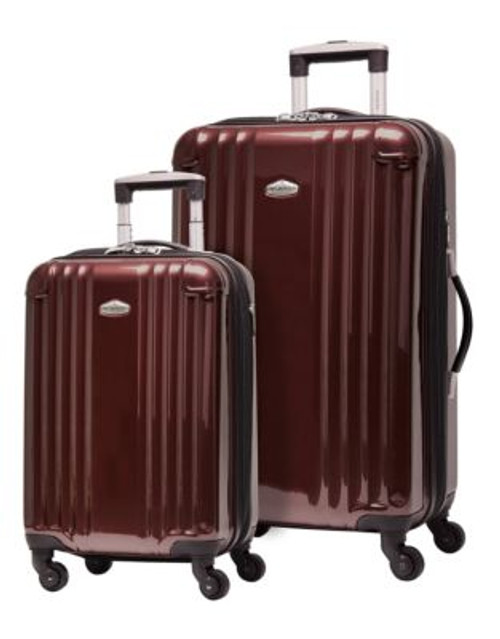 Ricardo Beverly Hills Fremont Two-Piece Expandable Luggage Set - RED - 2 PIECE