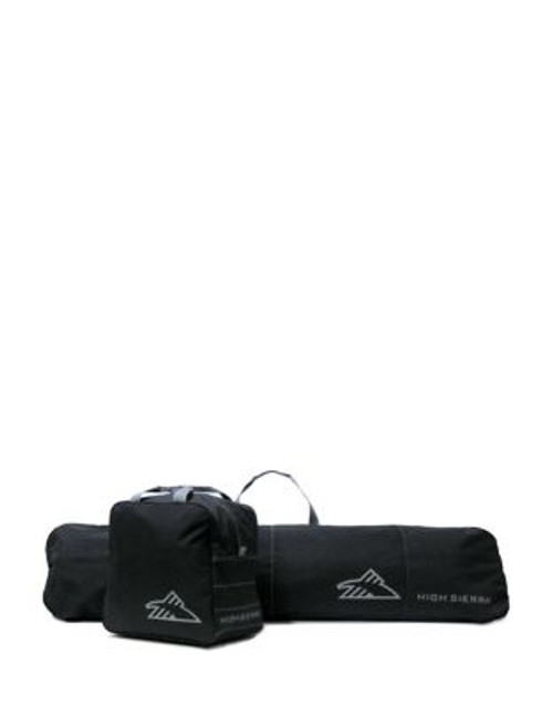 High Sierra Two-Piece Core Series Snowboard Sleeve and Boot Bag Combo - BLACK