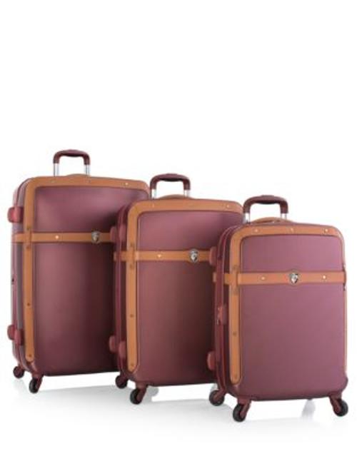 Heys Heritage Three-Piece Luggage Set - RED - 3PC