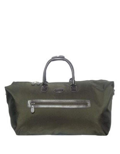 "Bric'S Pronto 22"" Cargo Duffle Bag - GREEN - 22"