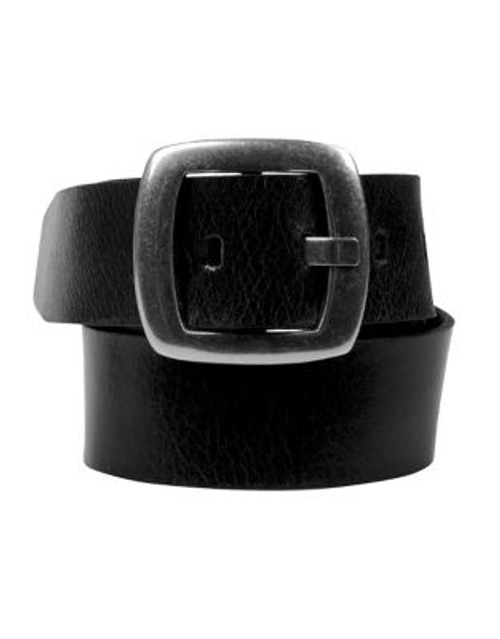 Calvin Klein Ladies Belt - BLACK - MEDIUM