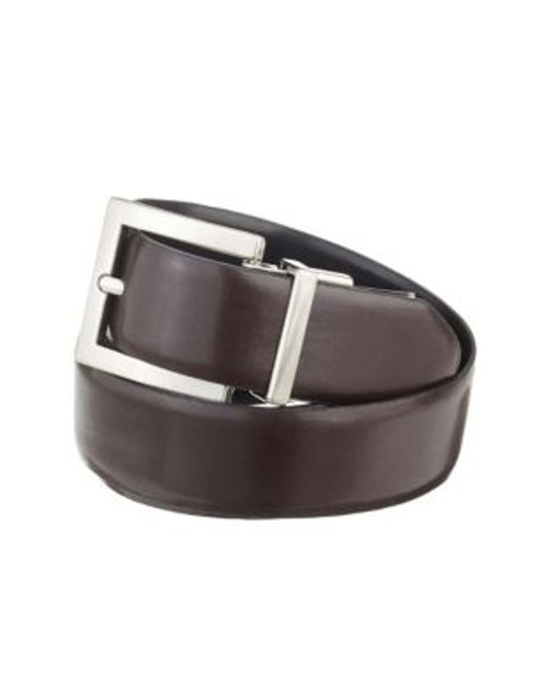 Calvin Klein Basic Reversible Belt - BROWN - SMALL