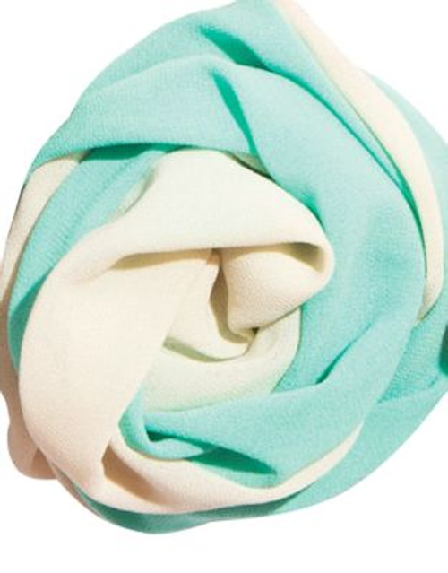 Bando Twist Scarf - MERMAID