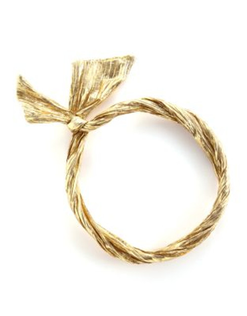 Bando Twist Scarf - GOLD