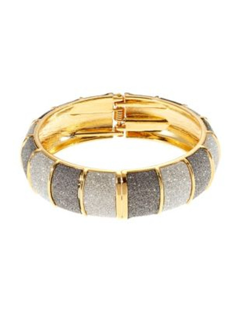 A.B.S. By Allen Schwartz Colourblock Glitter Bangle - GREY