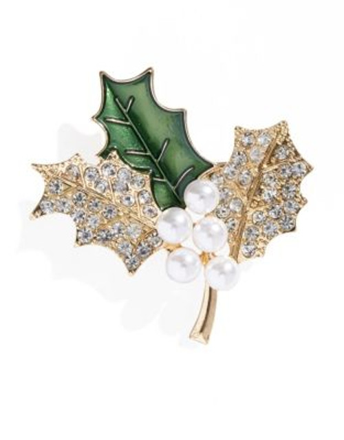 Jones New York Boxed Holly Pin - ASSORTED