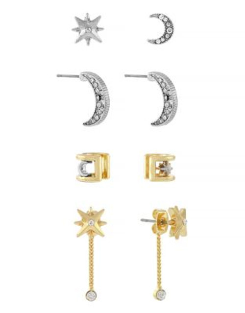 Bcbgeneration Moon and Star Earring Set - ASSORTED