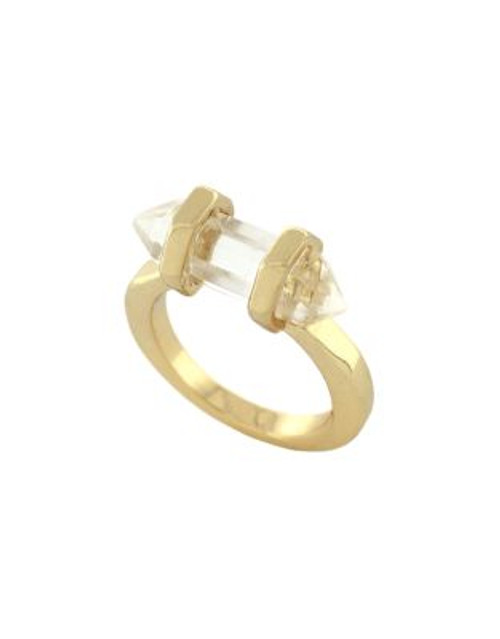 Bcbgeneration Crystal Shard Ring - GOLD - 7