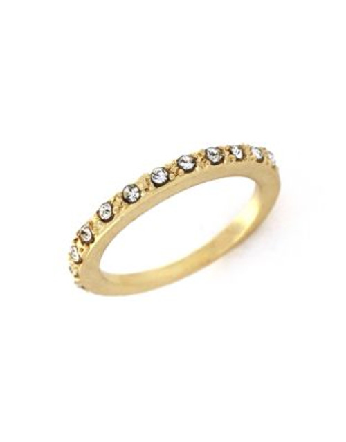 Bcbgeneration Pave Band Ring - GOLD - 8