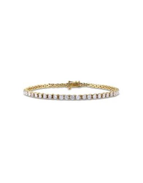 Concerto 4 CT Diamond TW 14k Yellow Gold Bracelet - DIAMOND