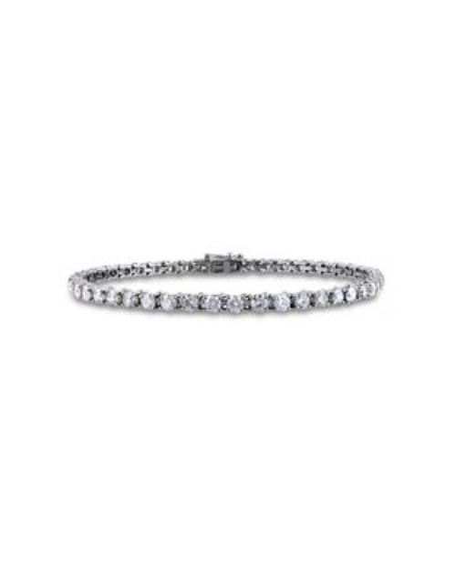 Concerto 6 CT Diamond TW 14k White Gold Bracelet - DIAMOND