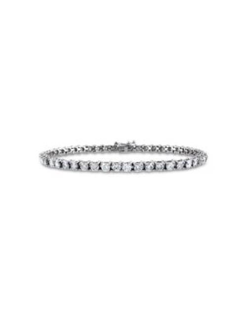 Concerto 5 CT Diamond TW 14k White Gold Bracelet - DIAMOND