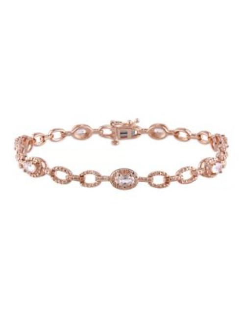 Concerto 1.375TCW Morganite Link Bracelet - PINK