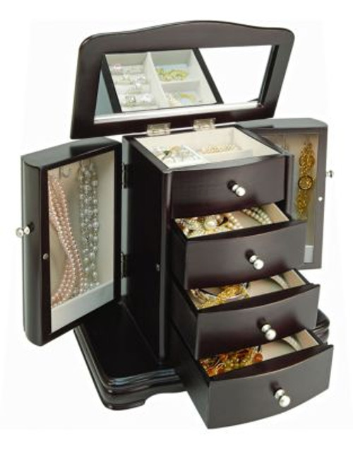 Gunther Mele Java Petite Armoire Style Jewellery Box