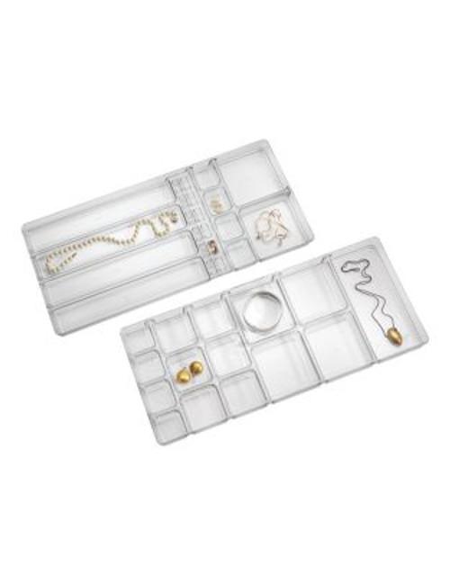 Interdesign Inc Linus Large Jewelry Box - CLEAR