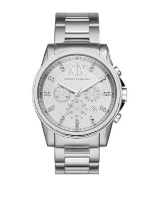 Armani Exchange Chronograph Outerbanks Watch - SILVER