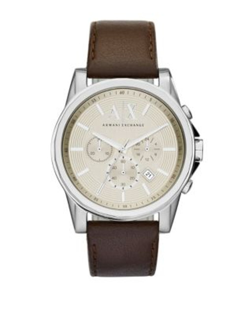 Armani Exchange Chronograph Outerbanks Watch - BROWN