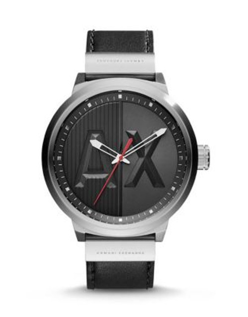 Armani Exchange Analog ATLC Watch - BLACK