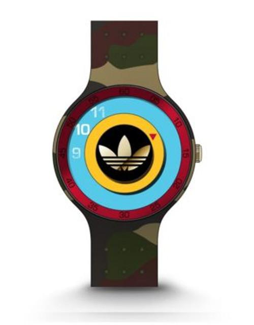 Adidas Ipswich Unisex Silicone Watch - GREEN