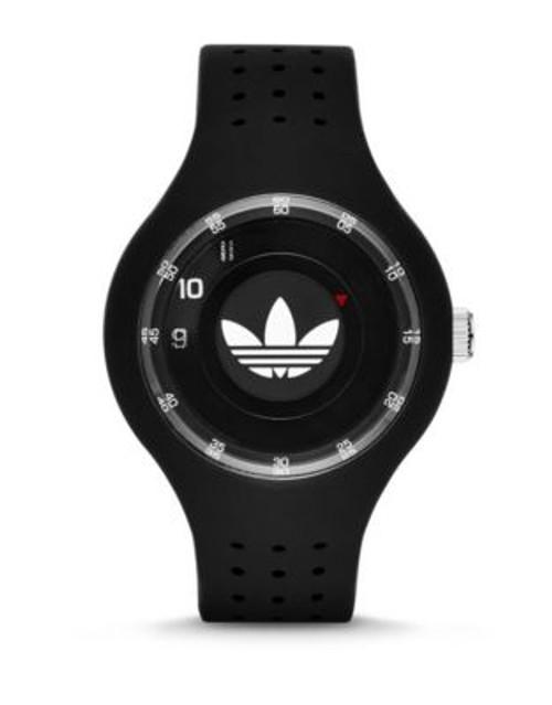 Adidas Ipswich Unisex Silicone Watch - BLACK