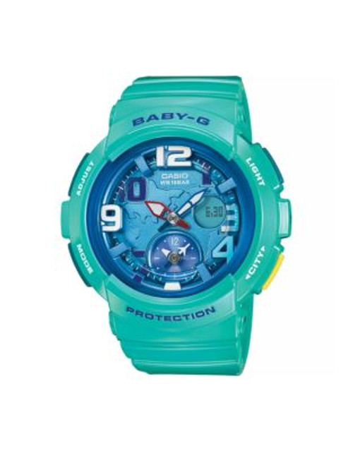 Casio Analog Baby G Dual World Time Watch - BLUE