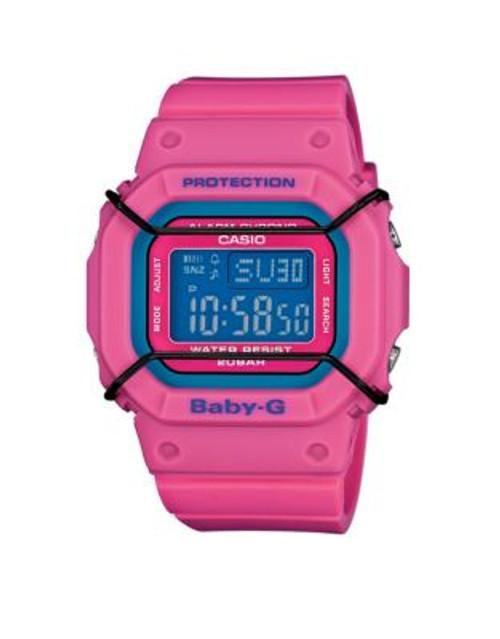 Casio Digital Baby G Retro Watch - PINK