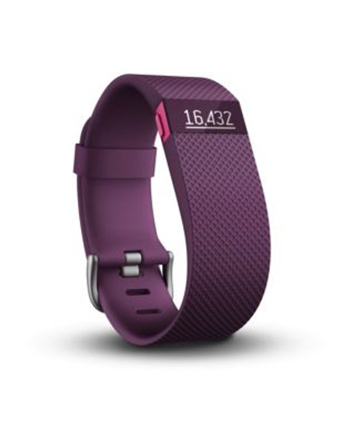 Fitbit Charge HR Wireless Activity Wristband - PURPLE - LARGE
