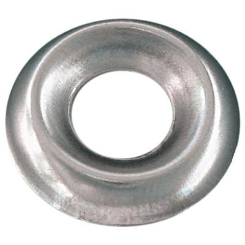 #6 Ctsk Finish Washer Steel Nickel