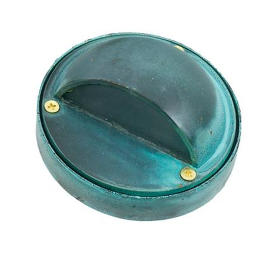 1-Light Surface Mount Step Light Verde Green Finish