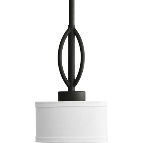Calven Collection Forged Black 1-light Mini-Pendant