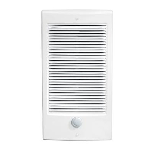 1500W/240V Fan Forced Wall Insert Electric Heater - White