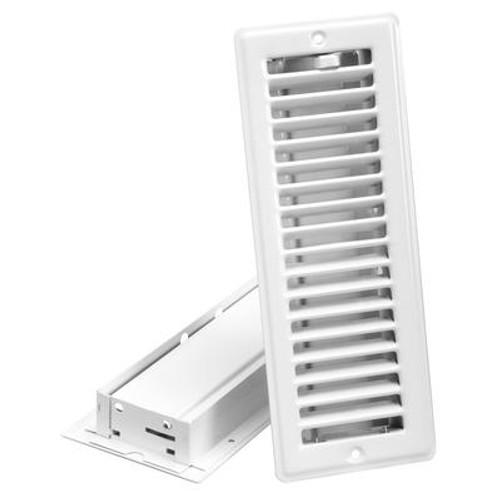 3  x 10  Ceiling Register - White