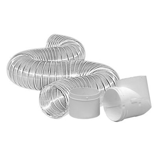 Dryer To Duct Connector Kit 4 inchX8 foot