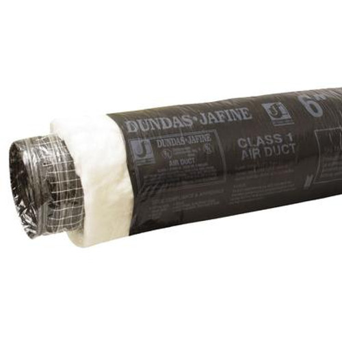 Flexible Insulated Ducting 6 inch X 25 foot