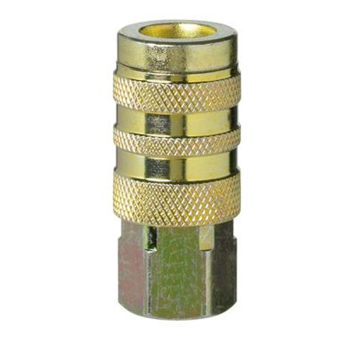 1/4 Female Brass Coupler - Bulk