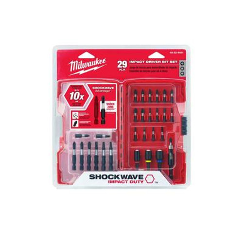 29 Piece Shockwave Driver Bit Set