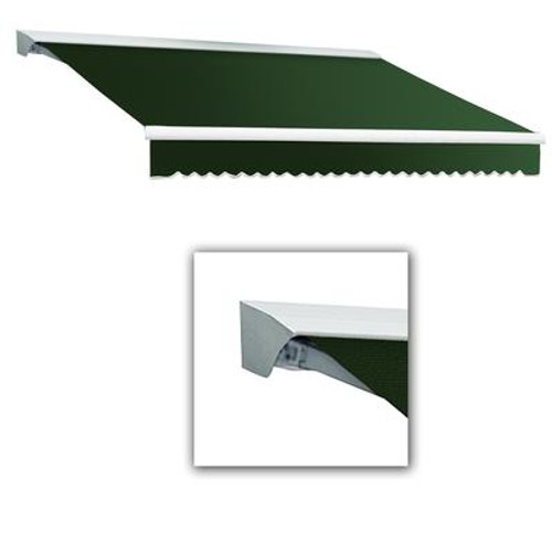 10 Feet DESTIN (8 Feet Projection) Manual Retractable Awning with Hood - Forest
