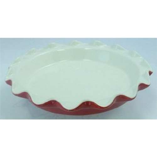 """Mini Fluted Pie Plate (Red) - 7"""""""
