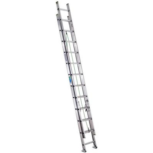 Aluminum Extension Ladder Grade 2 (225# Load Capacity) - 24 Feet