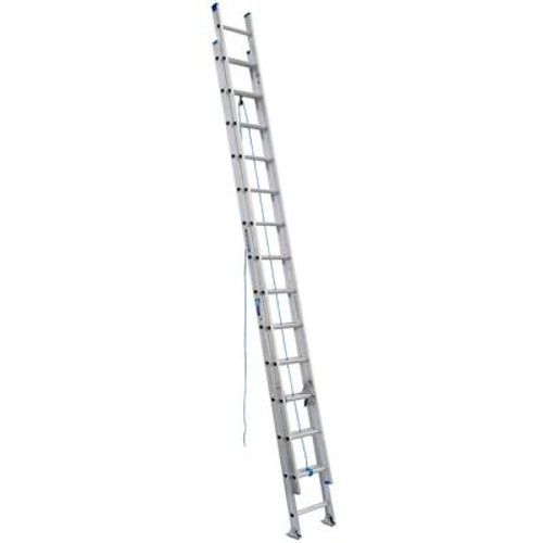 Aluminum Extension Ladder Grade 1 (250# Load Capacity) - 28 Feet