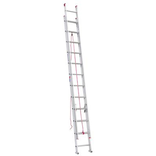 Aluminum Extension Ladder Grade 3 (200# Load Capacity) - 24 Feet