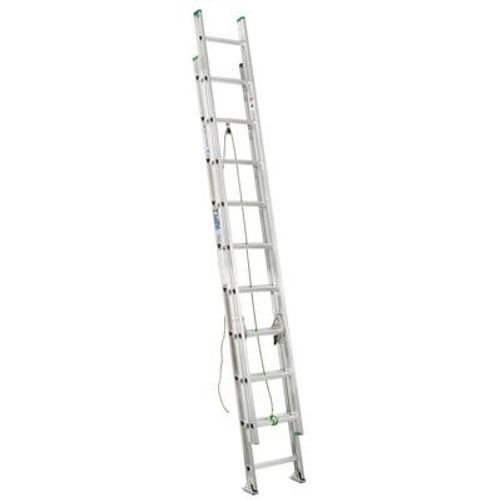 Aluminum Extension Ladder Grade 2 (225# Load Capacity) - 20 Feet