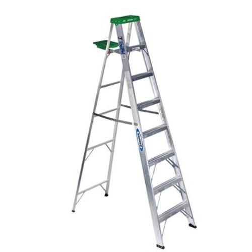 Aluminum Stepladder Grade 2 (225# Load Capacity) - 8 Feet