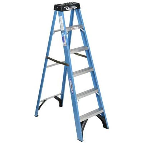Fiberglass Stepladder Grade 1 (250# Load Capacity) - 6 Feet