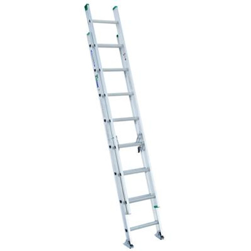Aluminum Extension Ladder Grade 2 (225# Load Capacity) - 16 Feet