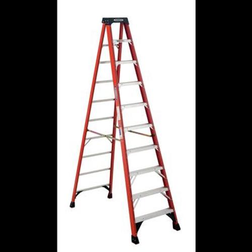 Fiberglass Stepladder Grade 1A (300# Load Capacity) - 10 Feet