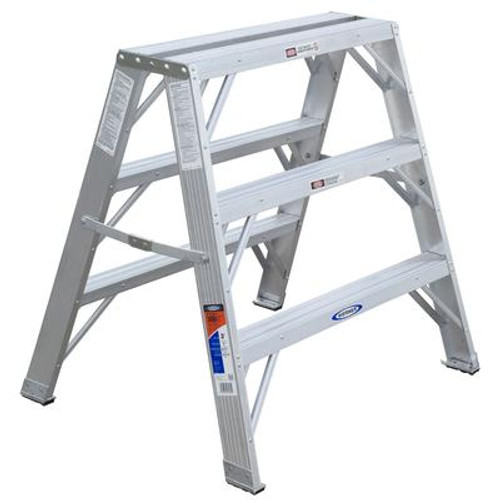 Aluminum Portable Work Stand Grade 1A (300# Load Capacity) - 3 Feet