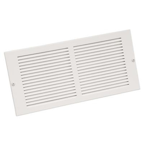 10  x 6  Sidewall Grille - White
