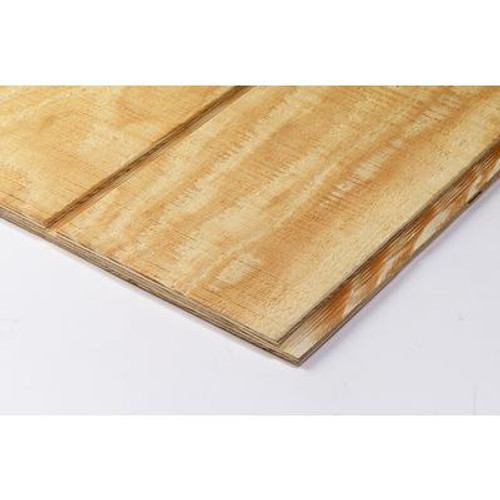 4X8 19/32 Southern Yellow Pine 8 Inch On Centre T1-11 Plywood Siding
