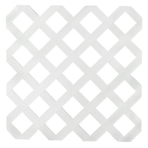 Veranda 2x8 White Reg Plstc Lattice